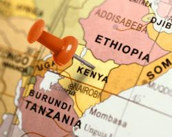 Mapa Kene, Afrika