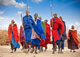 Masajovia, domorodci Kene, Afrika