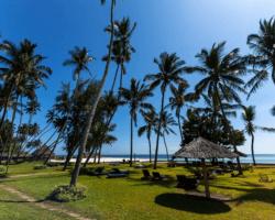 Pláž v africkej Mombase