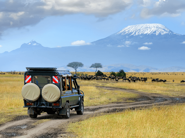 Cestovanie po Keni, Afrika