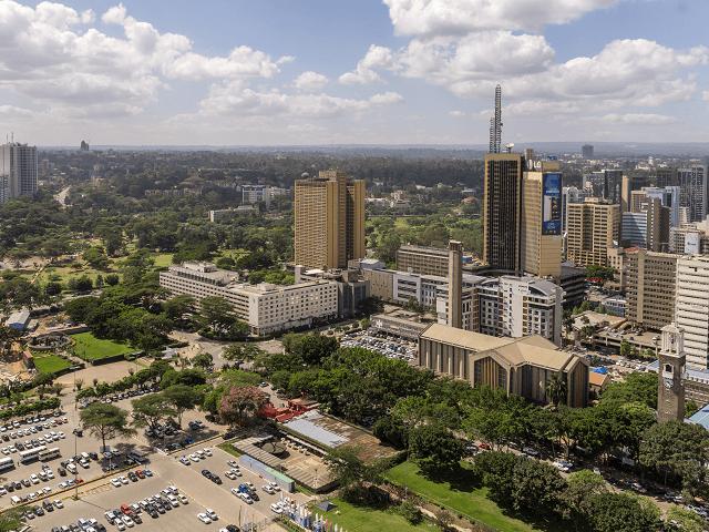 Mesto Nairobi, Afrika, Keňa
