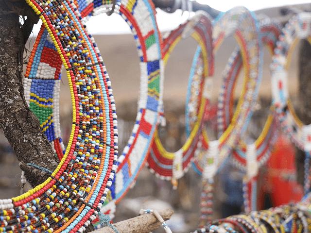 Módne doplnky kenských domorodcov