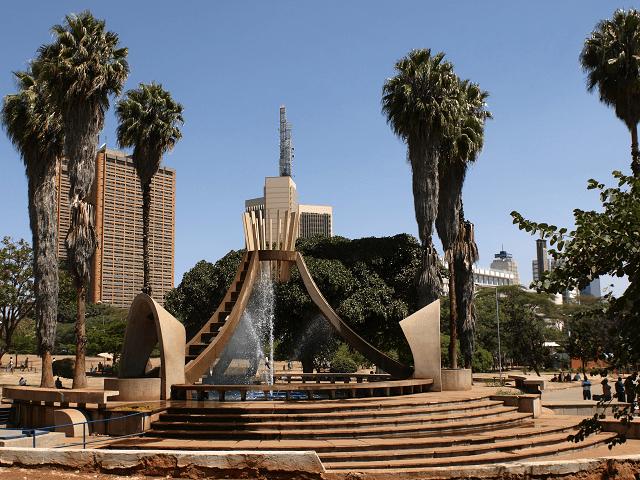 Pamätník Uhuru, Nairobi, Keňa