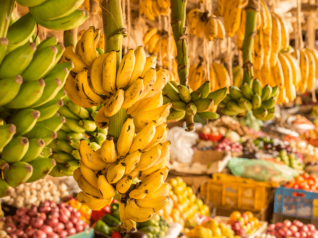 Trhovisko v Nairobi, Keňa