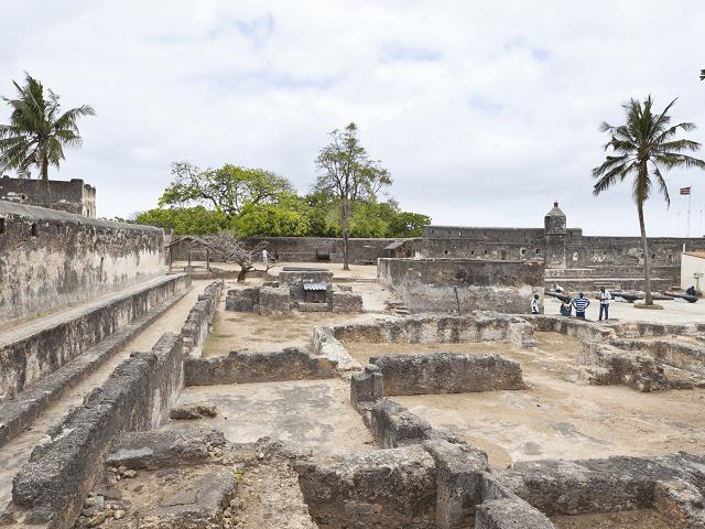 Zrúcaniny pevnosti Jesus v Mombase, Keňa